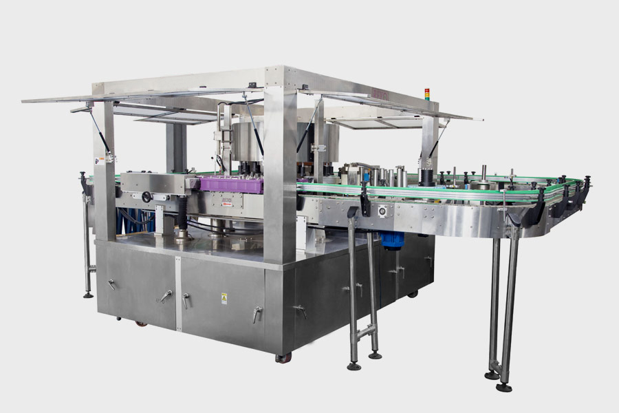 Rotary Dry Adhesive Series Automatic Labeling Machine