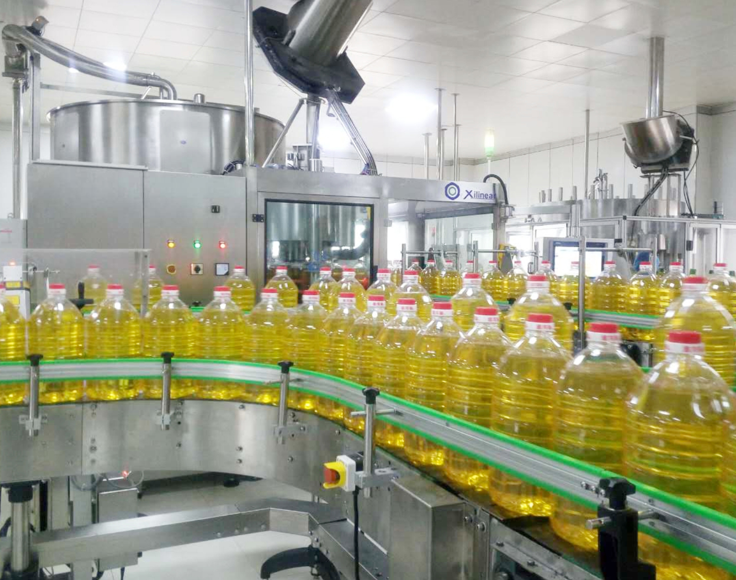 Guangzhou Xili dozens of production lines put into use in goldfish